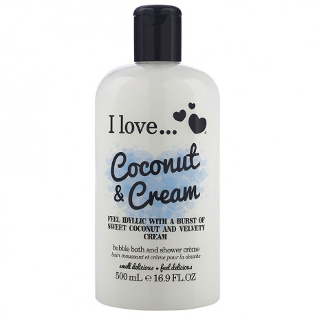 I Love Bath Shower Coconut Cream