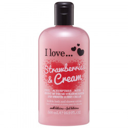 I Love Bath Shower Strawberries & Cream
