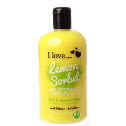 I Love Bath Shower Lemon Sorbet
