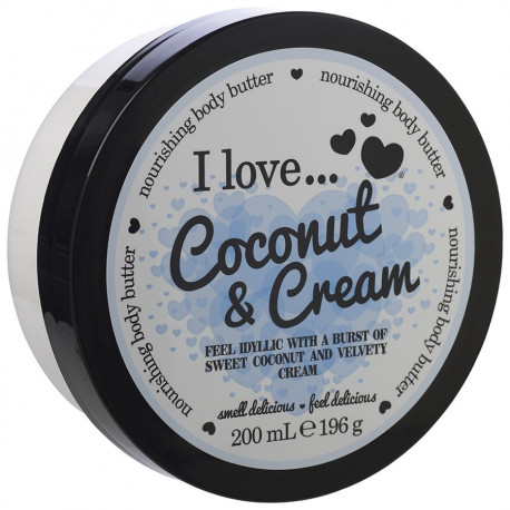 I Love Body Butter Coconut Cream 200ml