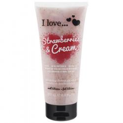 I Love Shower Smoothie Strawberries & Cream 200ml
