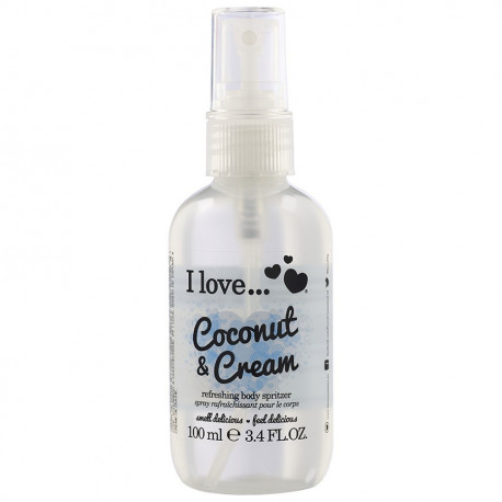 I Love Body Spritzer Coconut Cream 100ml