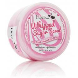 I Love Whipped Sugar Scrub Pink Marshmallow 200ml