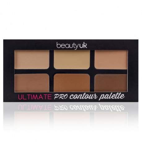 Beauty UK - Ultimate Pro Contouring Palette