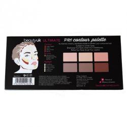 Beauty UK Konturovací PRO Paletka - Ultimate Pro Contouring Palette