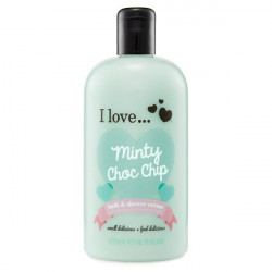 I Love Bath Shower Minty Chop Chic