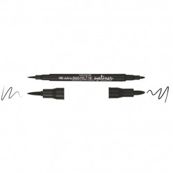 Beauty UK Linkovač DUO HD Felt Tip Liner Black 1g