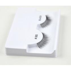 Absolute Cosmetics Fake Eyelashes without Glue, 14112/005, black
