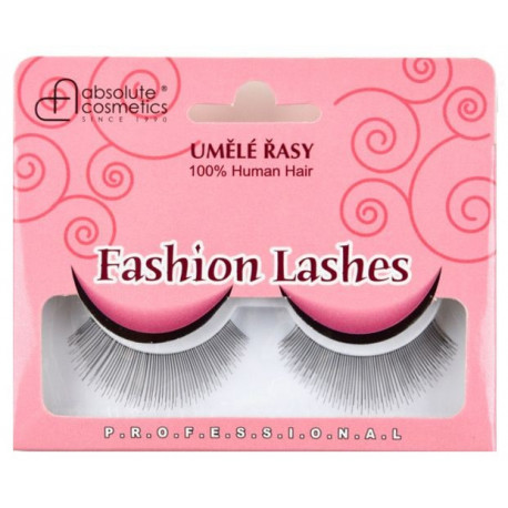 Absolute Cosmetics Fake Eyelashes without Glue, 14112/12, black