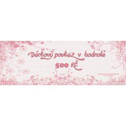 Gift Voucher 500Kč