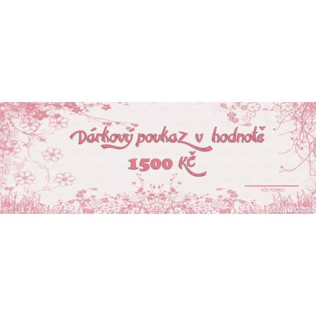 Gift Voucher 15000Kč