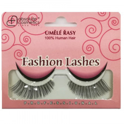 Absolute Cosmetics Fake Eyelashes with Glue, 14112/118, black