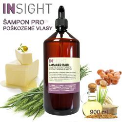 Insight Damaged Hair šampón na poškozené vlasy 900ml