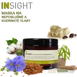 Insight Anti-Frizz Maska pro kudrnaté vlasy 500ml
