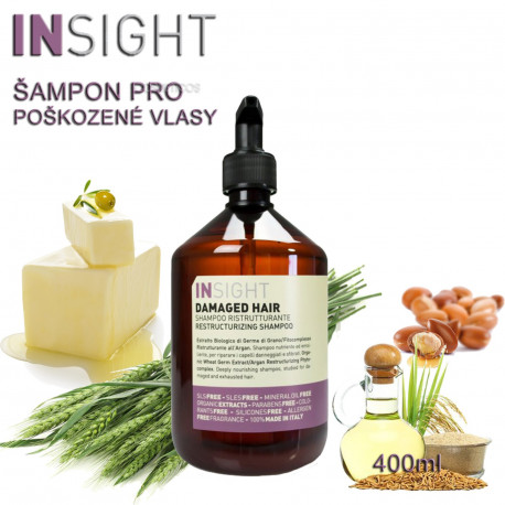 Insight Damaged Hair Shampoo 400ml