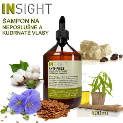 Insight Anti Frizz Šampon 400ml