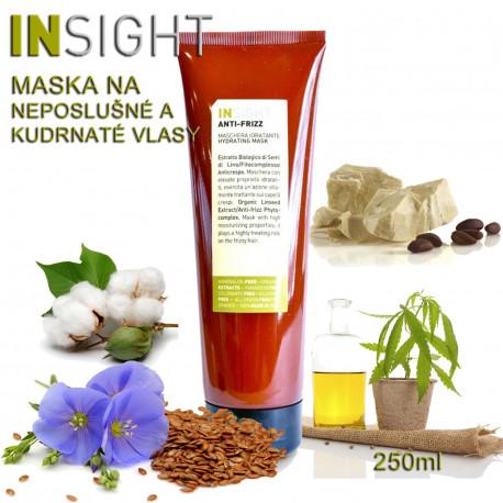 Insight Anti-Frizz Maska pro kudrnaté vlasy 250ml