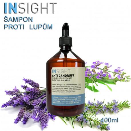Insight Anti-Dandruff šampón proti lupům 400ml