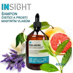Insight Rebalancing hloubkově čistící šampón 400ml