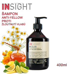 Insight Anti-Yellow šampon proti žloutnutí vlasů 400ml