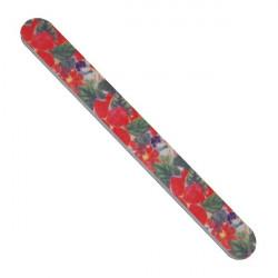 Pilník na nehty papírový-barevný hrubost 100/180